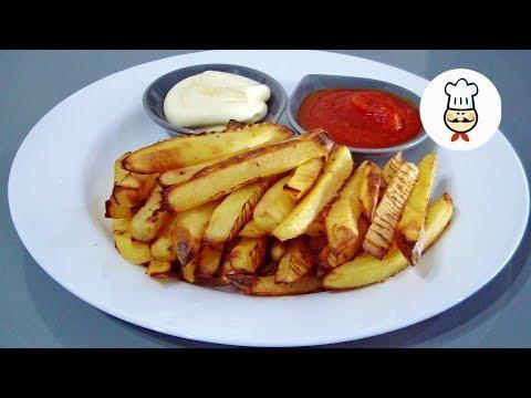 Картофель «ЛОЖНЫЙ ФРИ» в духовке.
