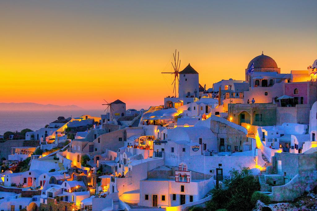 Остров Санторини (Santorini), Греция