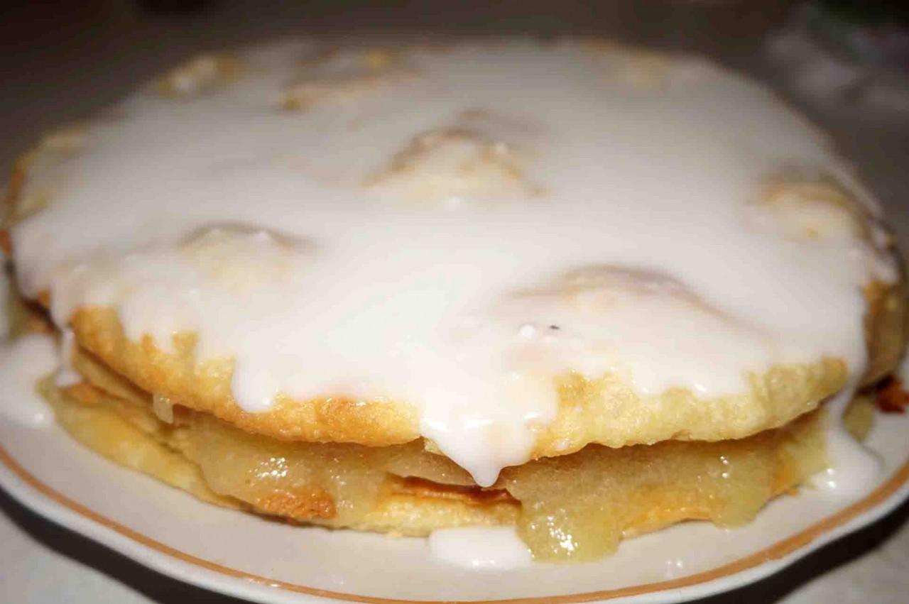Лимонный торт из старой тетрадки