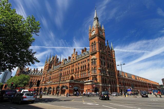 Вокзал Сент-Панкрас, Лондон, Англия