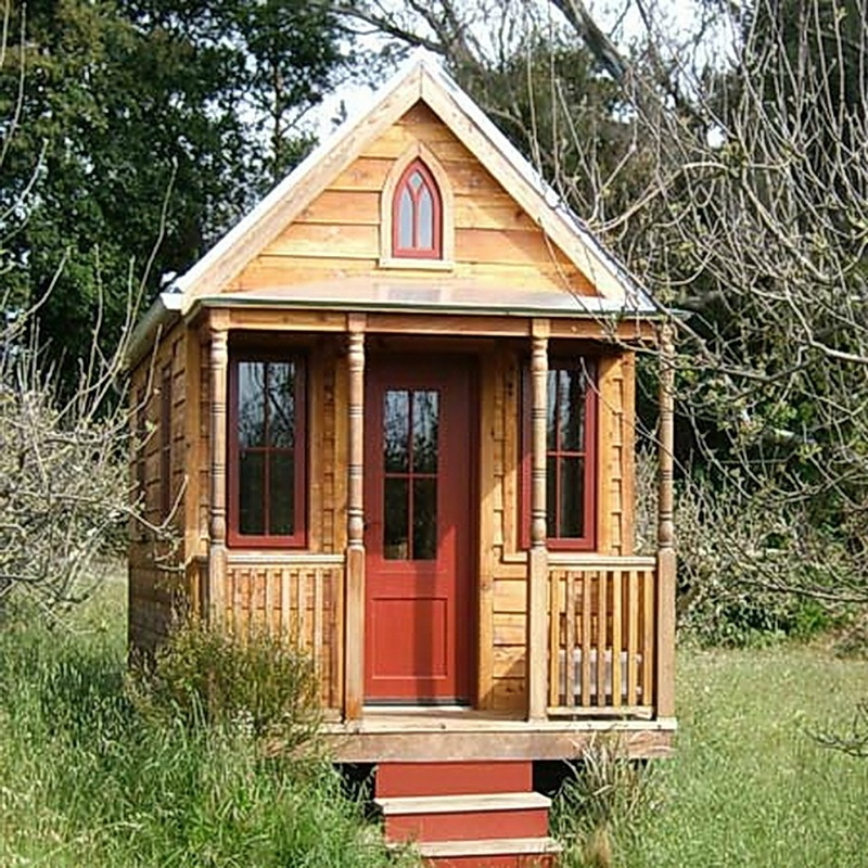 Маленький домик своими руками фото