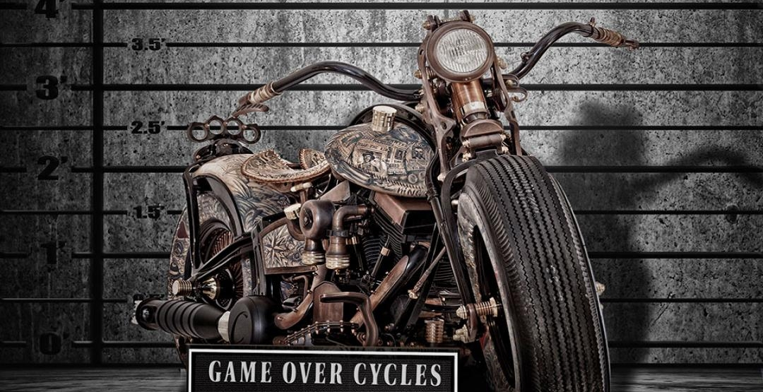 Фото Cheyenne Recidivist, Custombike, Game Over Cycles