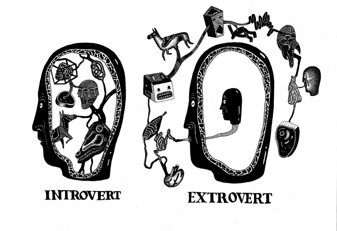 20 отличий человека, в котором уживаются интроверт и экстраверт