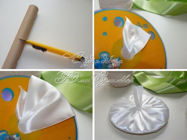 как сделать букет для невесты и гофрабумаги