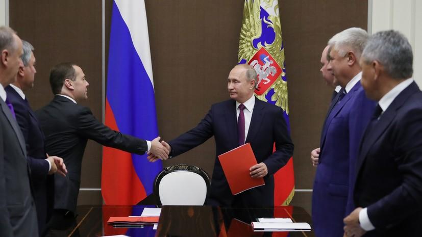 Путин обсудил с Совбезом вопросы безопасности российских военных в Сирии