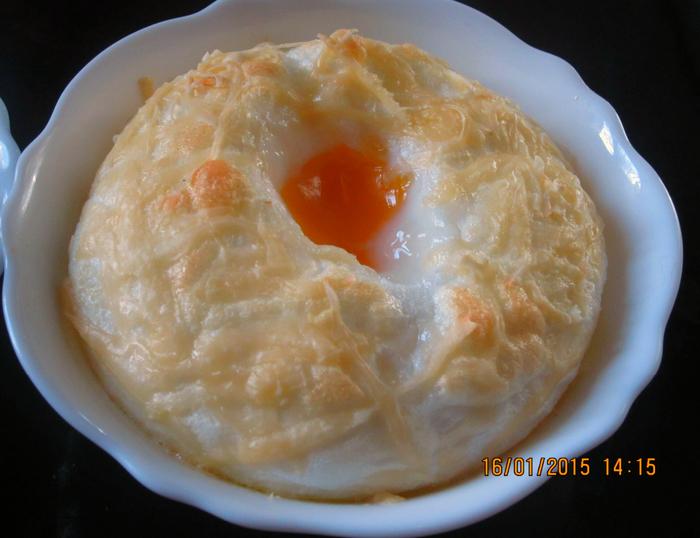 Яйца в пуховом гнезде )))