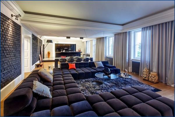 Мужские интерьеры квартир