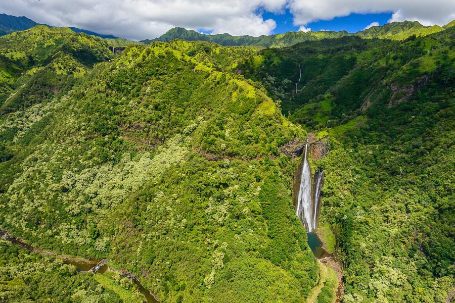 Водопад Манавайопуна