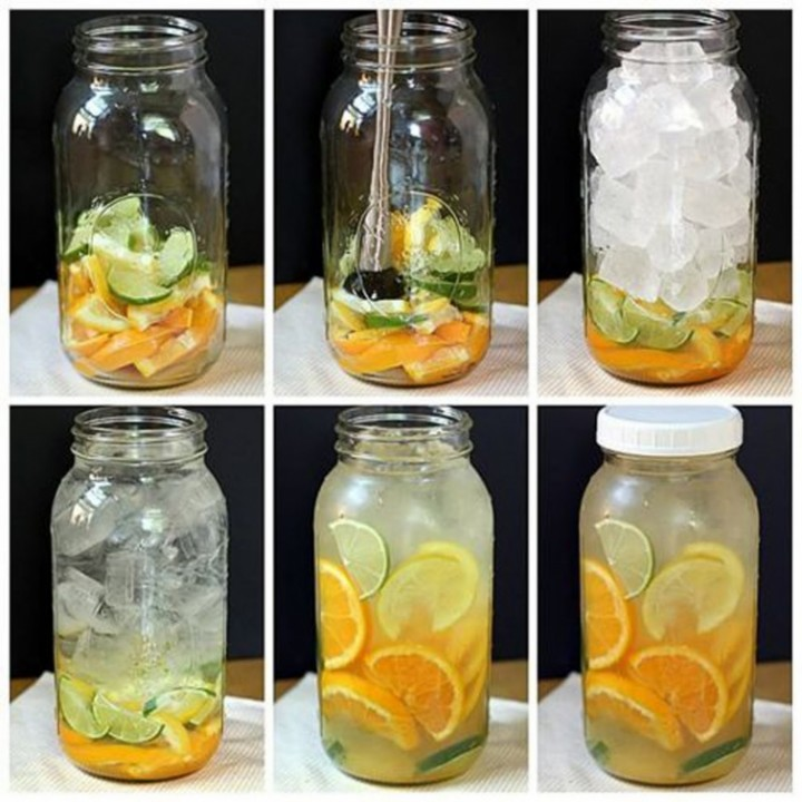 Как сделать освежающую и вкусную воду для утоления жажды