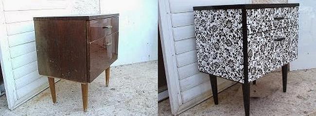 Как переделать старую мебель…