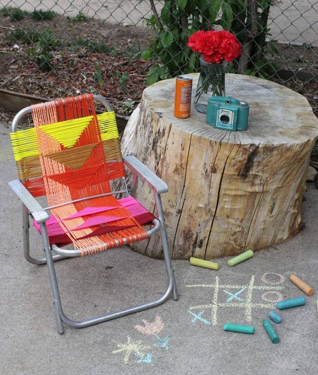 20 крутых идей для дачной мебели!