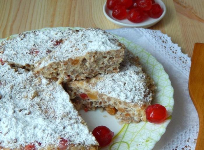 Гречневый пирог.  Фото: gotovim-vkusno.net.