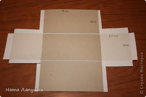 Фото как сделать сундучок из картона своими руками схемы