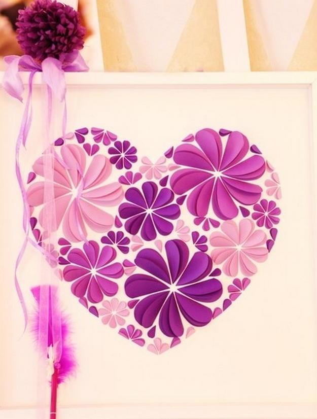 Картинки сердечек своими руками из бумаги
