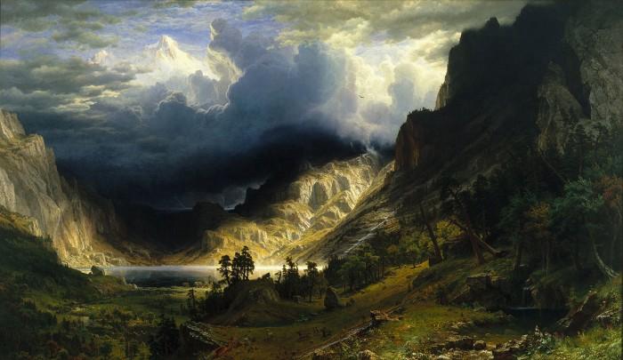 Американские пейзажи, художник Albert Bierstadt