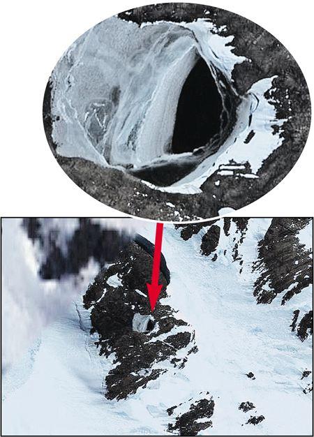 ролях: ученые нашли космический корабль подо льдами антарктиды котел Куппер