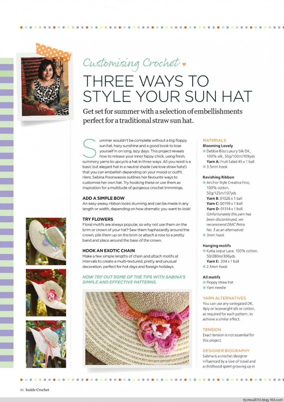 Inside Crochet №54 2014 - 紫苏 - 紫苏的博客