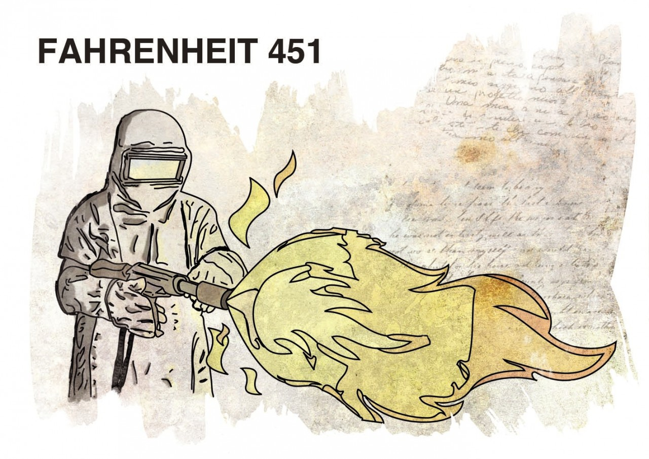 "Fahrenheit 451 ""comparison"" essay | free essays"