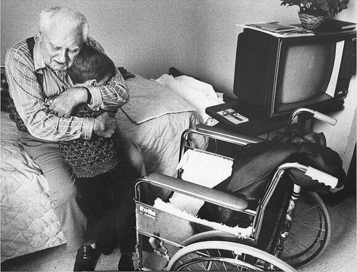 Трогательные снимки, поражающие до глубины души верность, грусть, тоска, трогательные фото