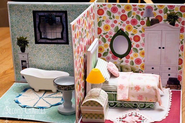 Мебель в кукольный домик своими руками