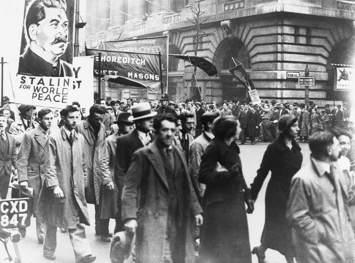 Коммунисты в Англии, 1936