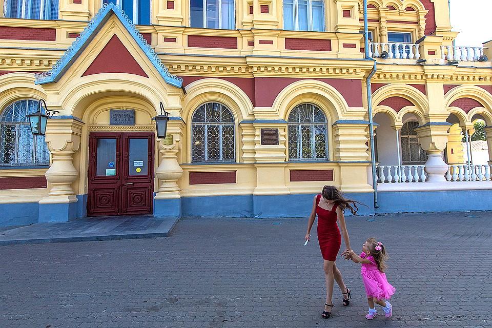 Историко-краеведческий музей в Камышине.