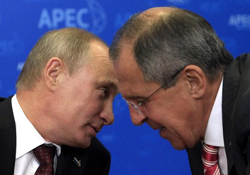 Путин и Лавров – лучшие поли…