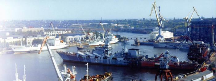 Украина убила Черноморский судостроительный завод