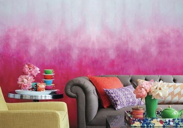 Декор в цветах: серый, белый, розовый, коричневый, бежевый. Декор в .