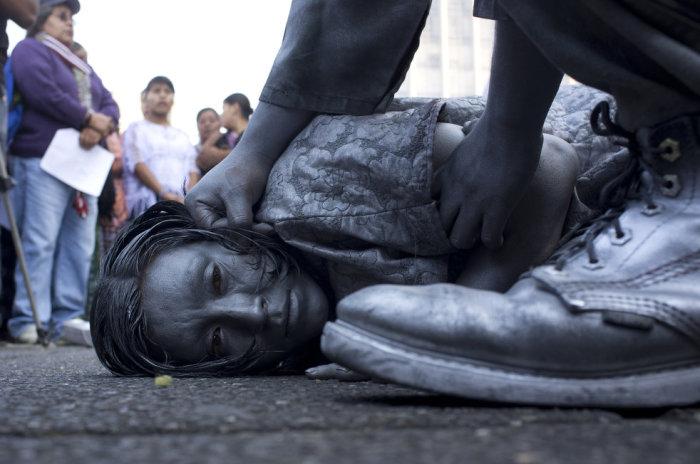 Women in Guatemala.
