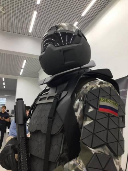 Российским военным выдадут экзоскелеты