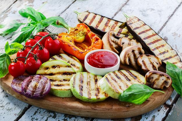 Как готовить овощи-гриль