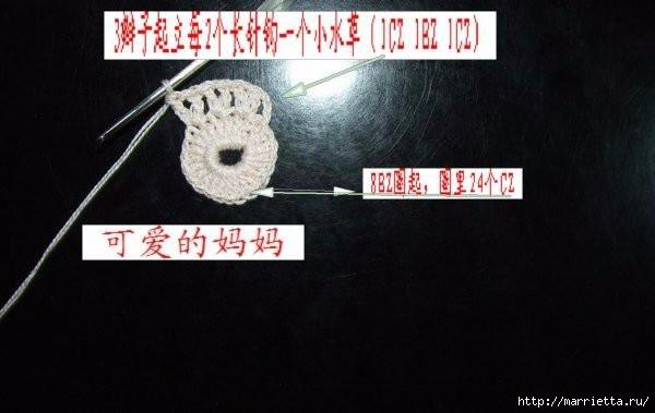 Летняя кофточка крючком (25) (600x379, 95Kb)