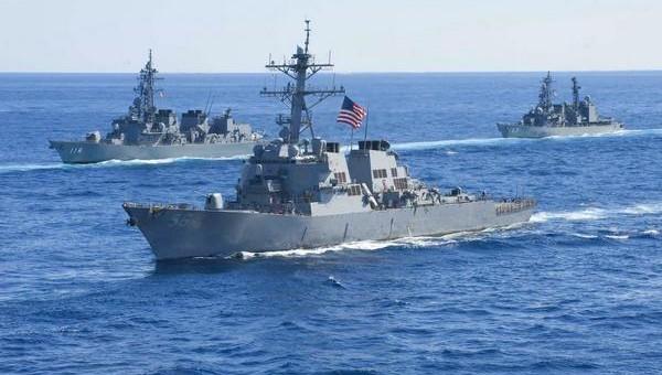 Целая эскадра кораблей НАТО вошла в Черное море