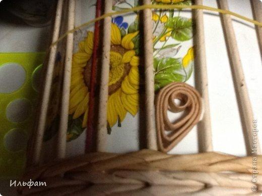 Мастер-класс Плетение Конфетница Трубочки бумажные фото 9