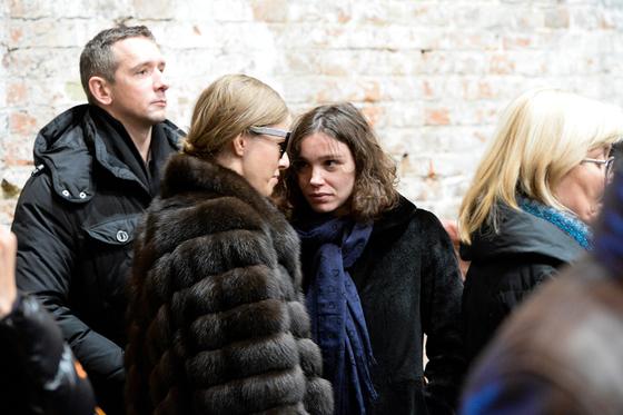 Ксения Собчак и Жанна Немцова