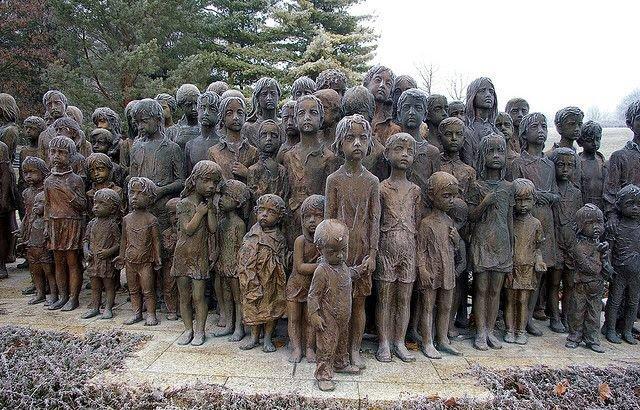 Потрясающий памятник детям - жертвам фашистов в Лидице (Чехия)