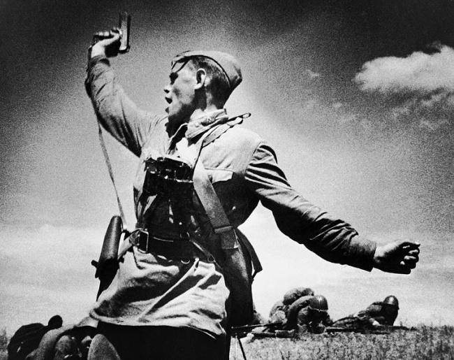 К 70-летию Великой победы. Солдаты, офицеры, генералы Вермахта о героизме советских воинов.