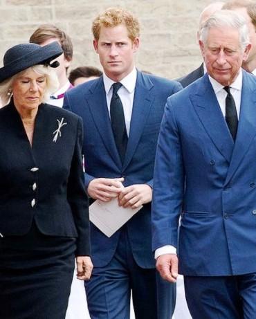 Камилла Паркер-Боулз , усомнилась в происхождении принца Гарри. Дойдет ли дело до  ДНК-теста?
