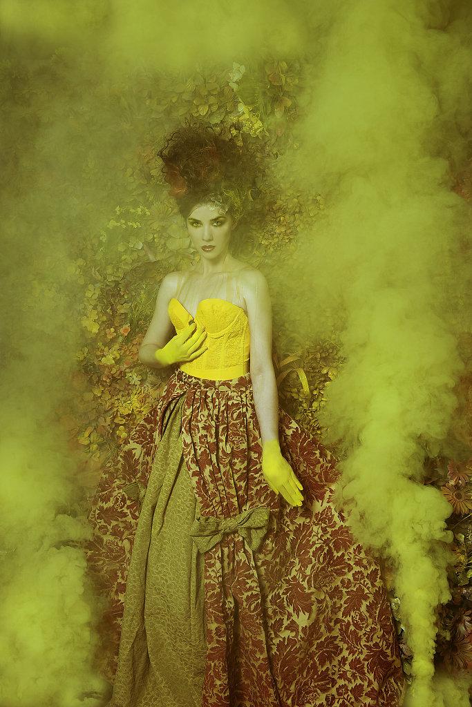 Фотопрект «Таинственный сад». Потрясающие сюрреалистические портреты фотографа Даниэлы Мэджик - 8