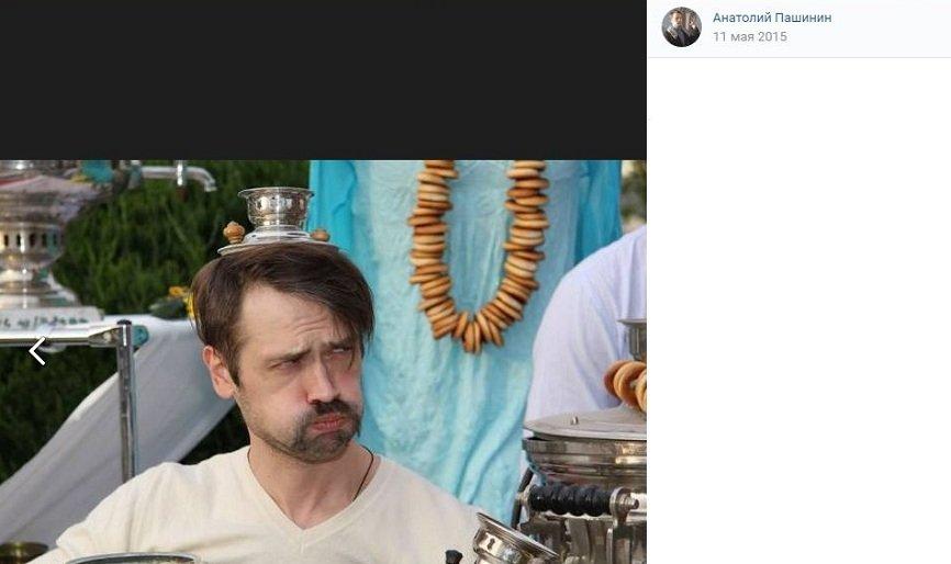 Воюющий в Донбассе актёр Пашинин уехал с фронта ради съёмок в кино