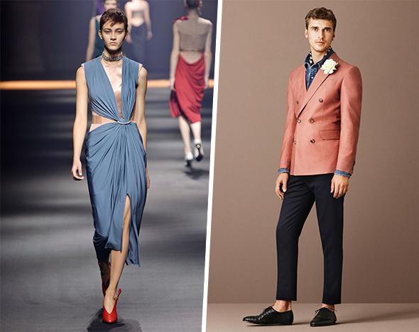 От розового до голубого: главные цвета сезона в одежде и макияже