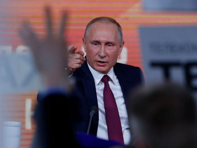 Путина выдвинут в президенты 26 декабря
