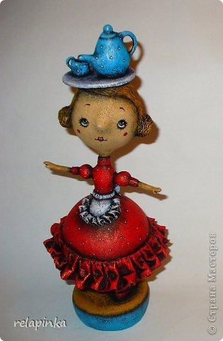 Куклы 1 апреля Папье-маше Пенни опять балуется  Бумага фото 1