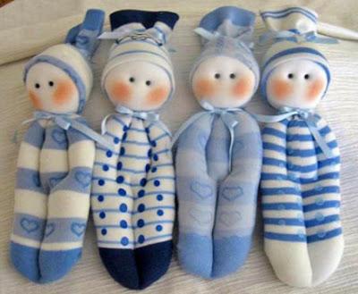 Куклы своими руками из носков!