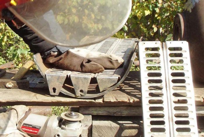 Делаем мангал для барбекю своими руками мангал, своими руками