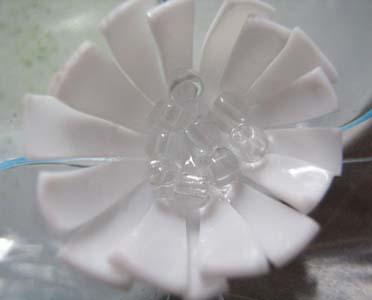 Цветок из ПЭТ-бутылки