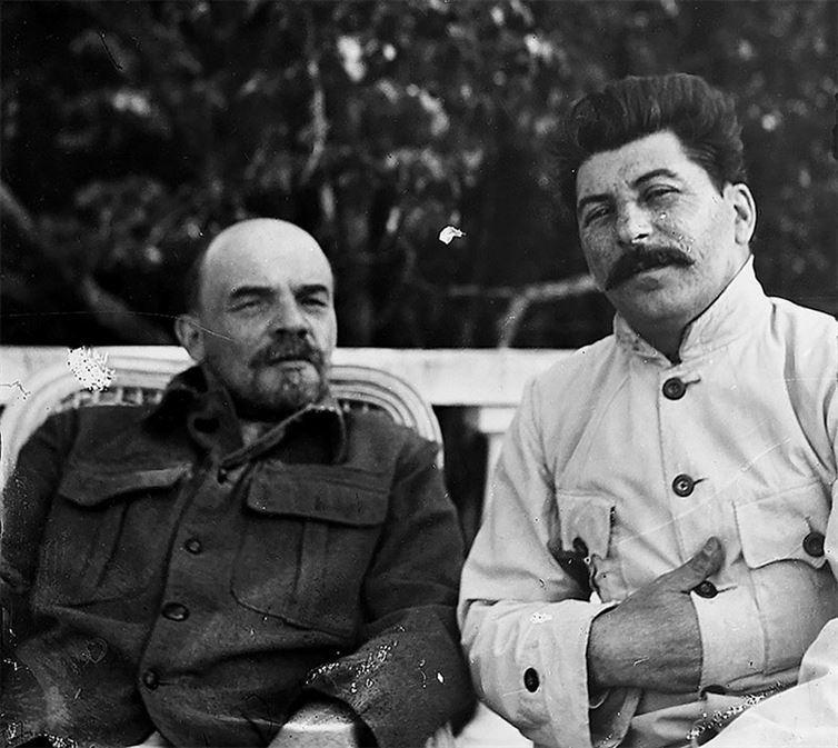 10. Ленин и Сталин в Горках. 1922 год. история, неизвестные фото, фото