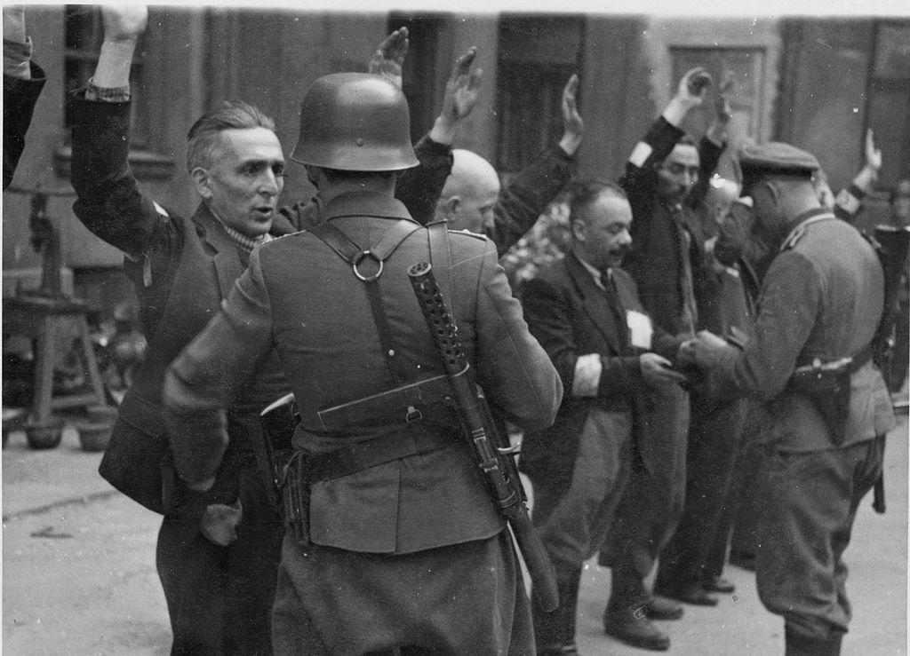 Варшавское гетто...
