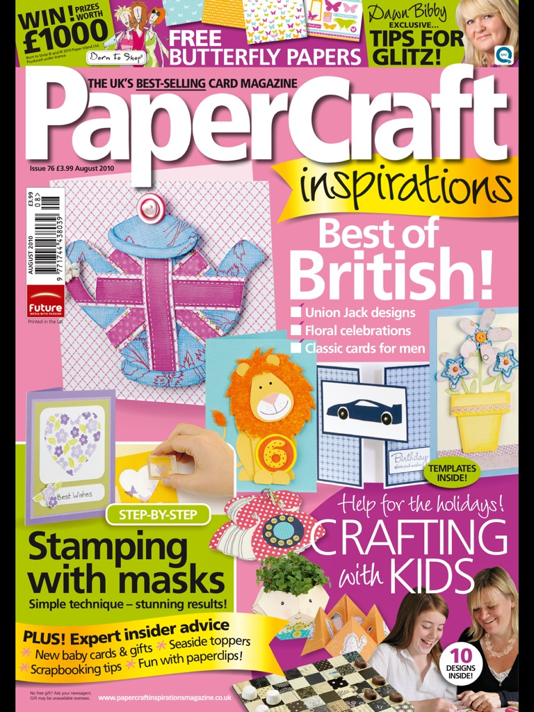 PaperCraft Inspirations 08 (76) 2010 (скрапбукинг)